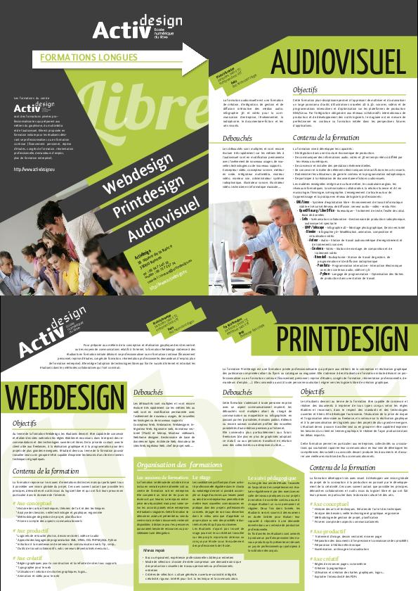 Scribus for Scribus brochure templates